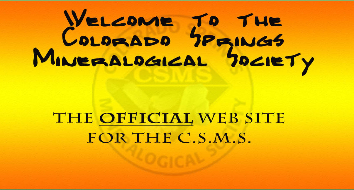 Colorado Springs Mineralogical Society